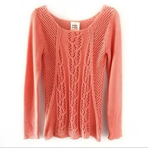 Anthropology between me & you Knit Sweater Size M